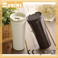 500ML Double Wall 304 Stainless Steel Thermos Travel Mugs StarBucks Flip Up Lid