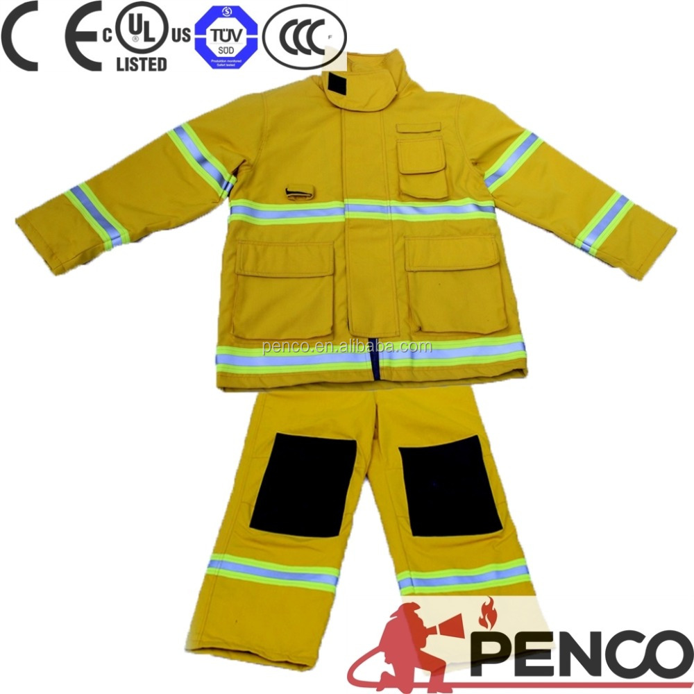 Manufacturer High performance waterproof thermal resistant nomex fire retardant clothing