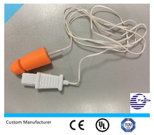 patient monitor ear temp sensor probe. Latex-free with CE, ISO, FDA approval