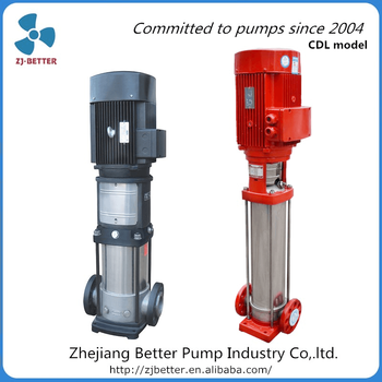 Vertical High Lift Pressure Water Supply Multistage Booster Jockey pump