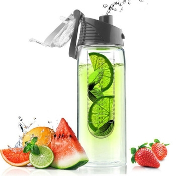 New arrival pet products fruit infuser water bottle joyshaker water bottle plastic water bottle infuser