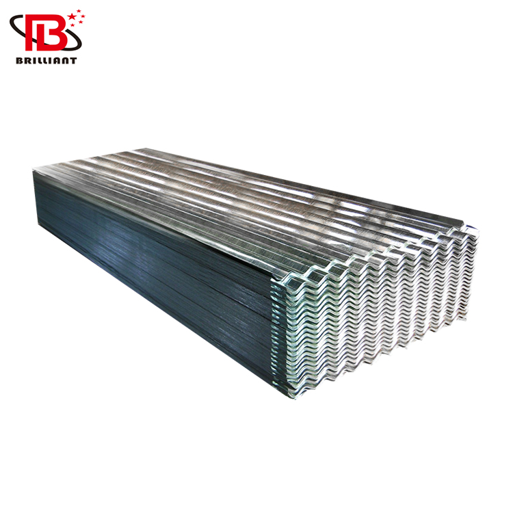 corrugated gi sheet / zinc roofing sheet / 22 gauge galvanized sheet metal 4x8