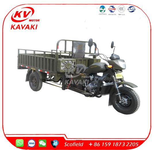 KAVAKI Factory Wholesale China Tricycle Lifan 200CC Cargo Tricycle