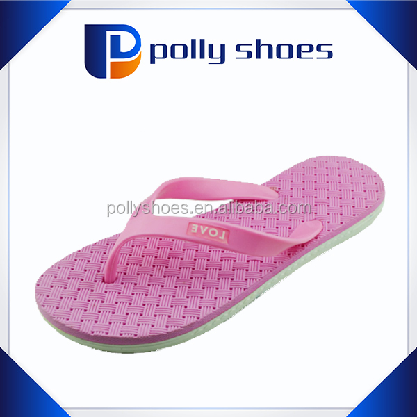 special design soft pvc spa sandals for lady