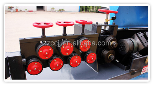 China cheap price rebar bending machine, electric steel bar bender /steel wire straightening and cutting machine