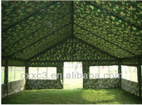 Army or Refugee Tent, Waterproof Green Camouflage Military Nylon Five Persons+ Tents Refugee Tents