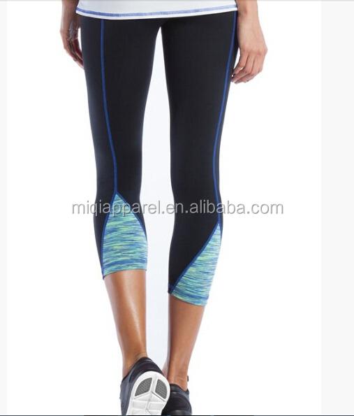 Custom Capri Pants For Yoga Ladies Fashion Three Quarter Jogging Pants