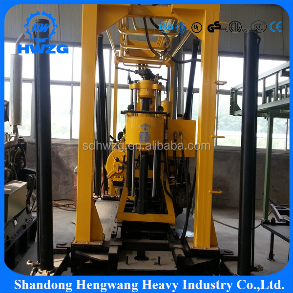 Machine parts small water well drilling rig buy portable