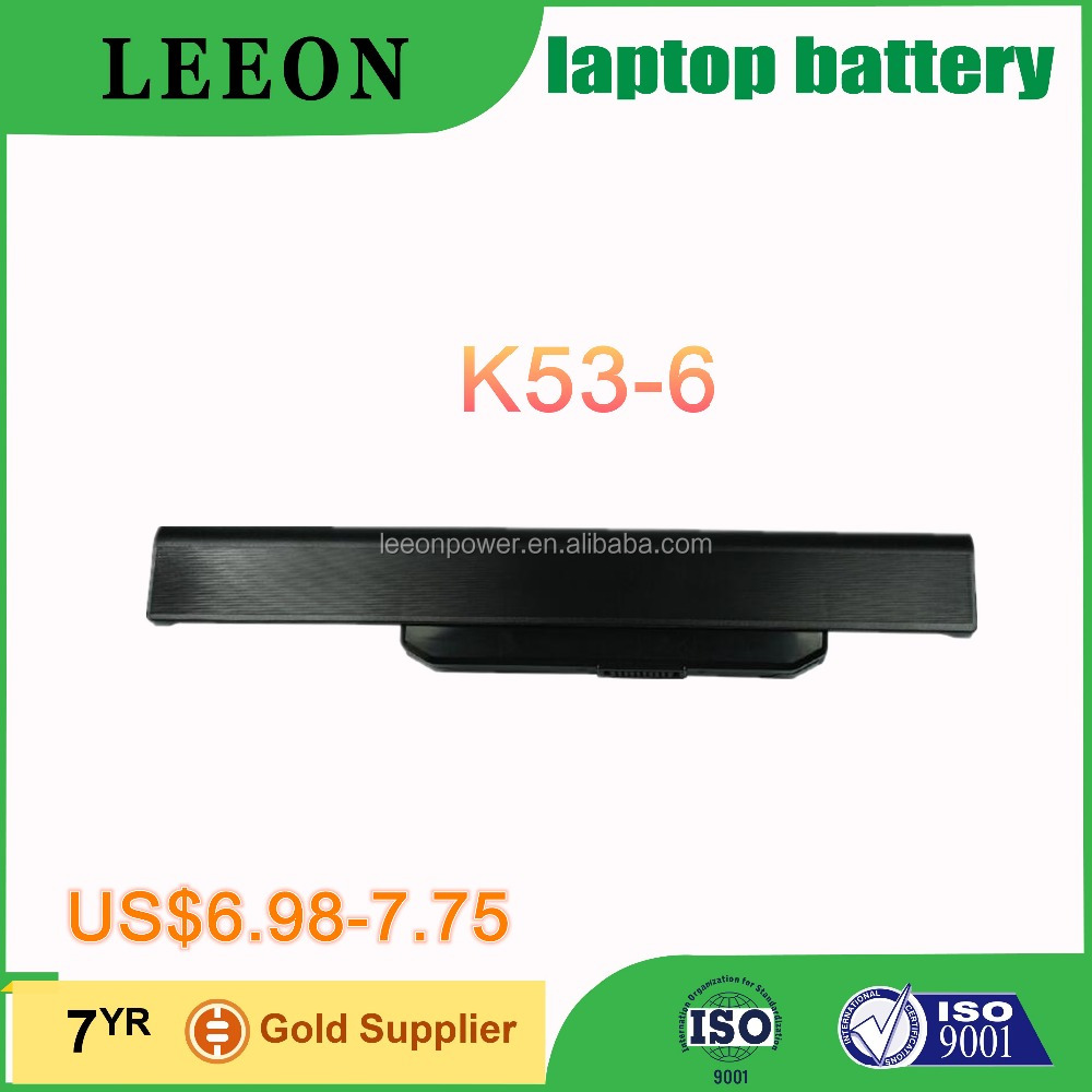 Hot Sale Laptop Battery Supplier For ASUS K53 K53B K53BY K53E K53F K53J