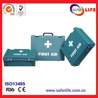 Trade Assurance OEM Plastic Medical First Aid Kits Box from China