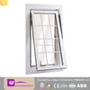 2016 Modern bottom hung upvc window with even grill design