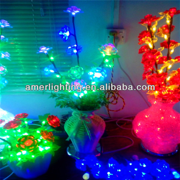 2014 nouvelle mini d coratif led arbre fleur vase lampe pour le mariage fleur de cerisier hight. Black Bedroom Furniture Sets. Home Design Ideas
