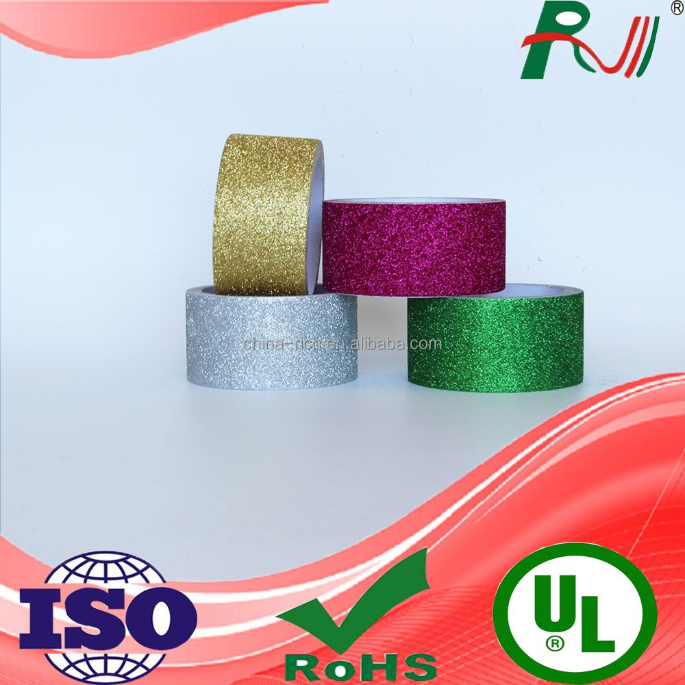 Decorative wholesale hotfix glitter tape