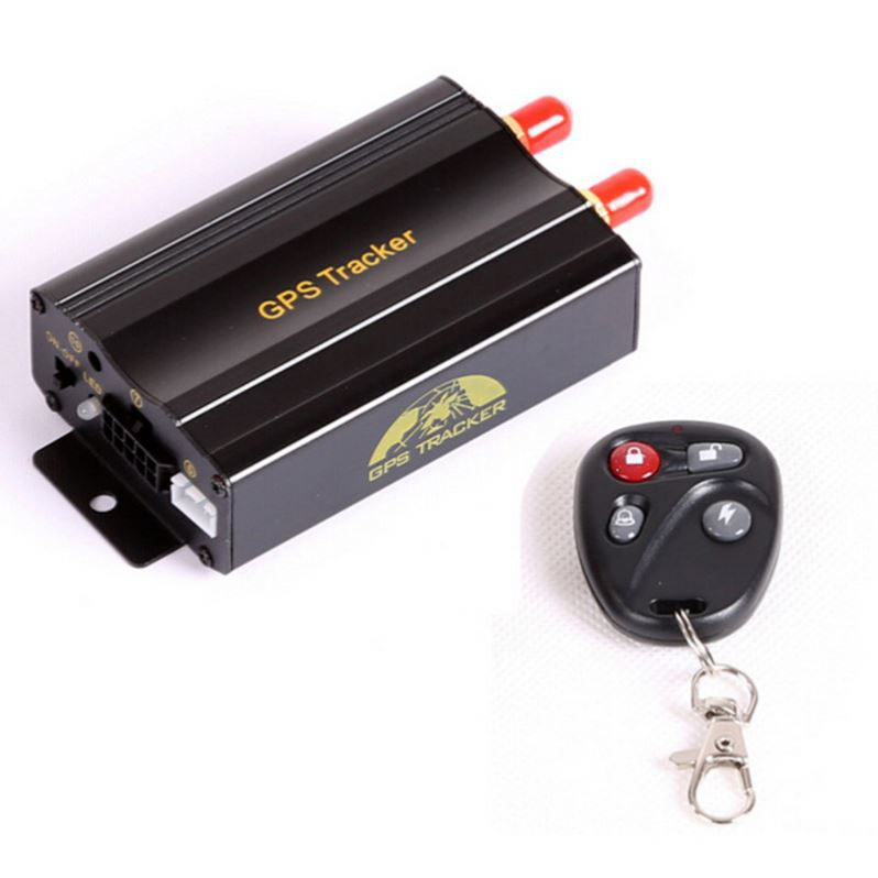 Hot selling vehicle GPS tracker TK103 with simcom chip data log and vibration alarm TK103