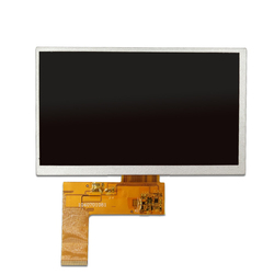 Factory price rgb interface high resolution 800x480 lcd display module 7 inch tft lcd 40 pin for car video monitor