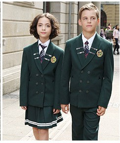 Beautiful All Grade School Uniform Navy Blue Suit