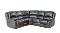 SX-8989 Living room corner recliner sofa /Two recliners corner sofa