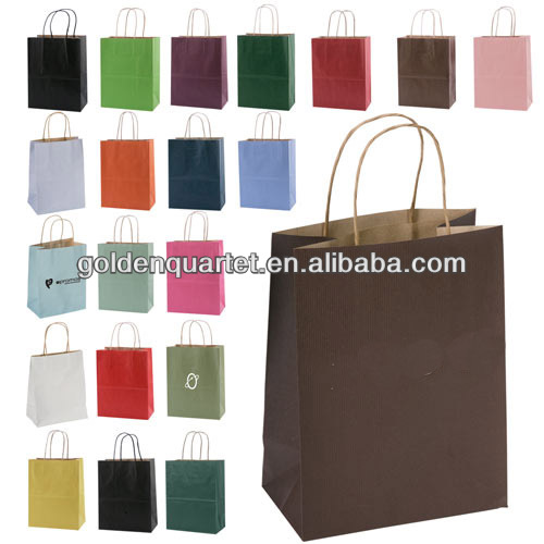 2015 promotion paper shopping bag(SA8000, BSCI, ICTI, WCA Accredited factory)