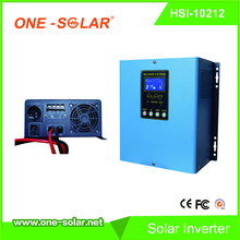 Pure sine wave 1kw 500w 700w 12v hybrid solar inverter with MPPT charger for solar power system for home and government