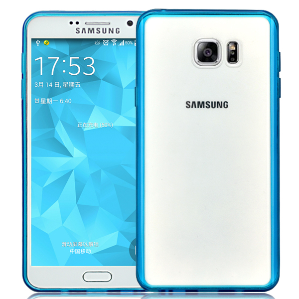 High brightness crystal PC TPU medley case for Galaxy Note 5