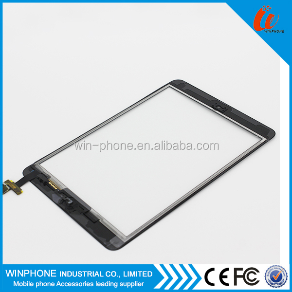 For Apple Ipad Mini Touch Screen Digitizer Touch +Home Button +Original IC for iPad Mini 1 for iPad Mini 2