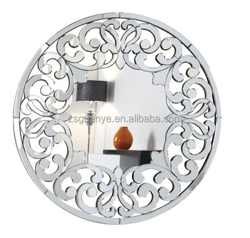 Hot selling entrance decor round Contemporary frame large wall mirror