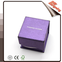 Classical Custom Logo Printed Gift Paper Box For Pendant