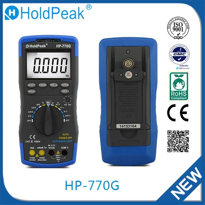 HP-770G China goods wholesale high precision digital multimeter