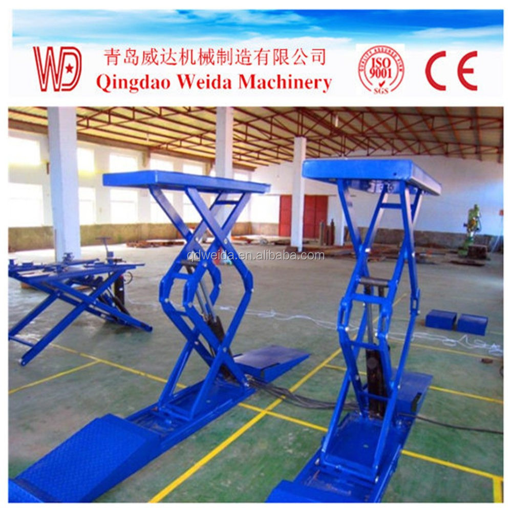 hydraulic scissor lift for car wash