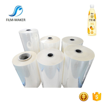 40Mic Soft Blown PVC Shrink Label Film For Printing Label