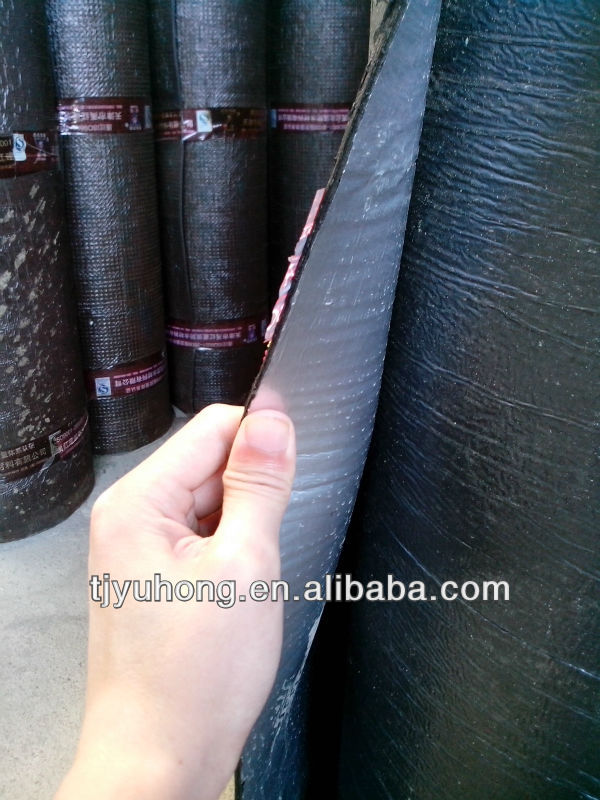 self-adhesive Modified bituminous waterproofing membrane