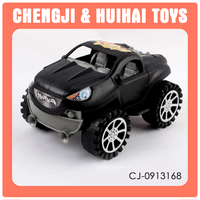Plastic car toys inertia vehicle 4wd toy car