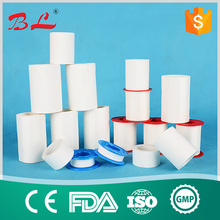 white&skin color zinc oxide adhesive plaster/ High quality Medical tape zinc oxide perforated plaster