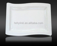 Good quality melamine dinner plate for restaurant cheap white dinner plates for restaurant ulk dinner plates
