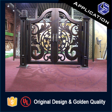 Latest design for steel pipe main entrance gate