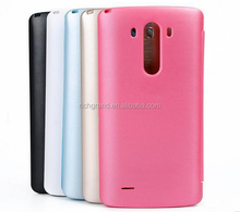 open window Flip PU Leather Quick Circle Case Cover for LG G3