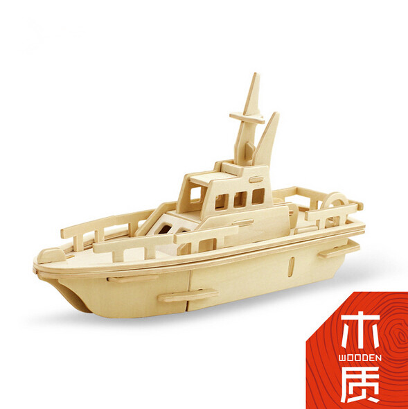 wood craft ship shaped craft gift wholesale in skysweet factory