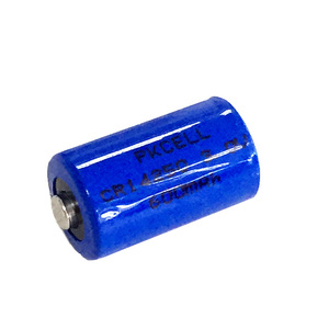 PKCELL 3.0V CR14250 Cylindrical 14.5*25.0mm 650mAh 14250 Li Ion Battery