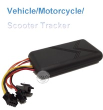Factory Wholesale Vehicle/Motorcyle/Scooter GPS Tracker,Professional Remote Auto Tracking with SOS in Shenzhen China