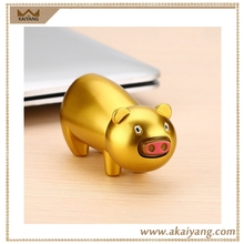 Rechargeable Usb Electric Metal Animal Shaped Lighter Piggy