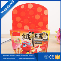 Professional single paperboard big christmas paper gift box for kids