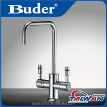 [ Taiwan Buder ] hot and cold plastic coloured aqua faucet water tap