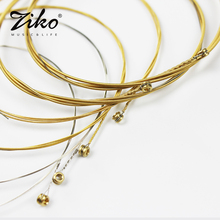 wholesale Acoustic guitar strings DCZ 010 011 012 brass ZIKO musical instrument parts guitar Accessories Cordas da guitarra