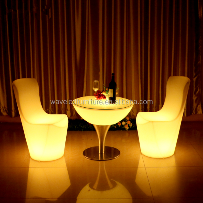 New Fashion Party Weeding Events Super Led Event Table and Chair