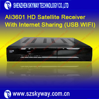2014 Full HD DVB-S2 Satellite Receiver Ali 3601 Support IKS