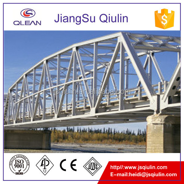 Customized Steel Bridge Structure for sale