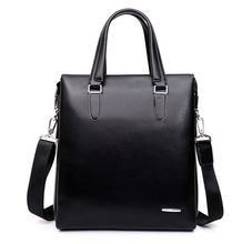 men leather PU briefcase business popular design briefcase with good quality