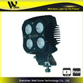 3 years warranty super bright 40w led work light 4'' square off road led light