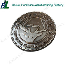 Sports assocition antique custom metal logo stamp for memebers