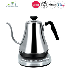 Electric Appliance 220V 304 Stainless steel 0.8L cool handle wholesale electric kettle with CE ROHS GS